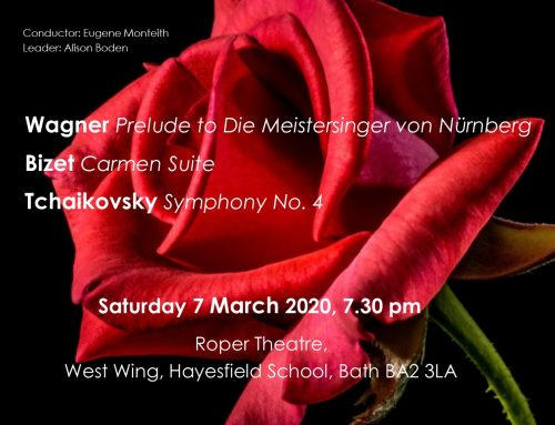 Spring Concert – upcoming next week!