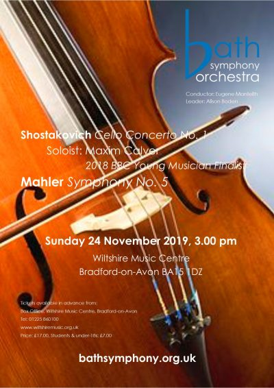 Bath Symphony Orchestra – Performing Great Music Since 1948